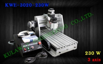 miniCNC KWE-3020-230W 3 axis Ball Screw